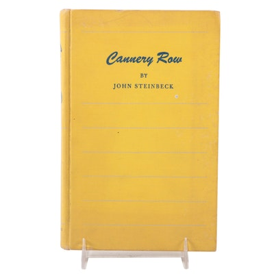 """First Edition Second State """"Cannery Row"""" by John Steinbeck, 1945"""