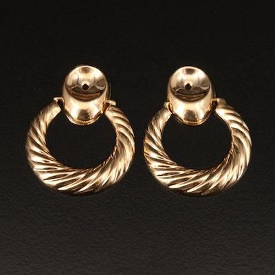 14K Stud Earring Enhancers