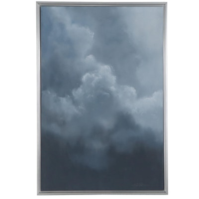 """Sarah Brown Oil Painting """"Cloudscapes IV"""""""
