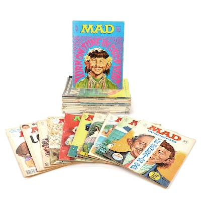 """""""MAD"""" Magazine Issues, Mid to Late 20th Century"""