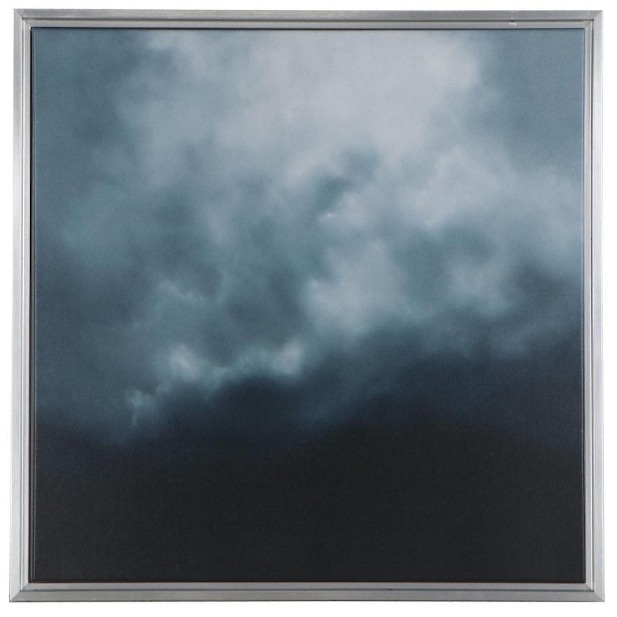 "Sarah Brown Giclée ""Night Sky II,"" 21st Century"