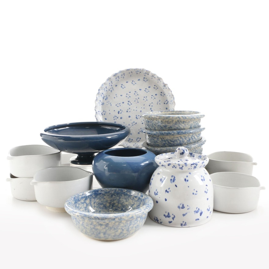 Bennington Potters Yūsuke Aida Lugged Bowls and Other Pottery Tableware