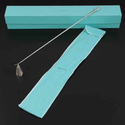 Tiffany & Co. Italian Sterling Silver Candle Snuffer