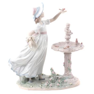 "Lladró ""Spring Joy"" Porcelain Figurine Designed by Regino Torrijos"