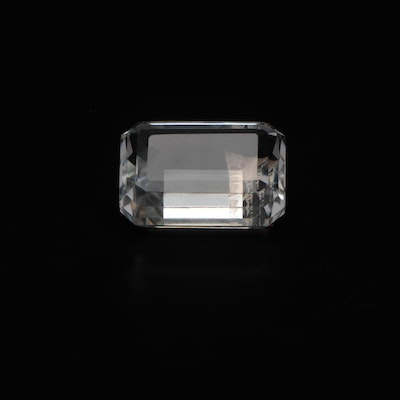 Tiffany & Co. Crystal Faceted Gem Paperweight