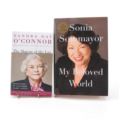 Signed Memoirs by Sonia Sotomayor and Sandra Day O'Connor, 2004–2019