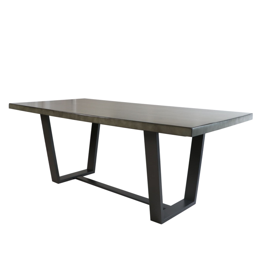 Coaster Industrial Style Metal Dining Table