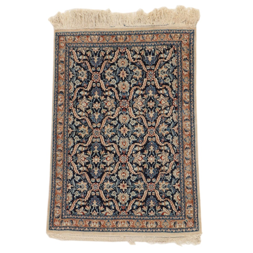 2'7 x 4'1 Hand-Knotted Persian Tabriz Accent Rug