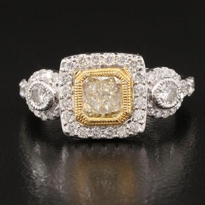 14K 1.92 CTW Diamond Ring