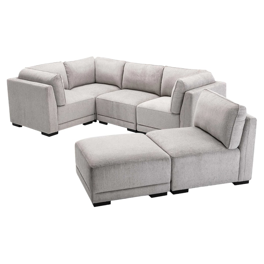 """""""Belize"""" Six-Piece Fabric Sectional"""