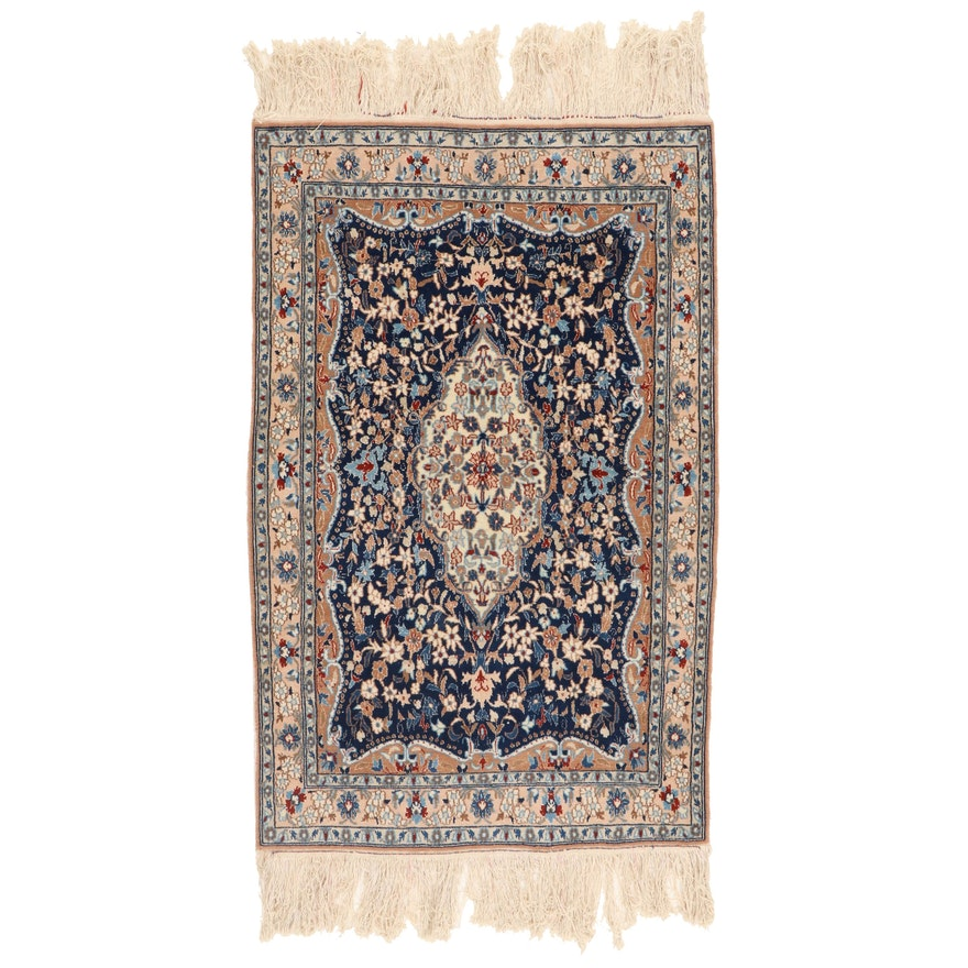 2'8 x 5'2 Hand-Knotted Persian Tabriz Accent Rug