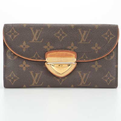 Louis Vuitton Portefeuille Eugenie in Monogram Canvas with Box