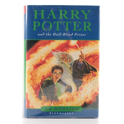 """First UK Edition """"Harry Potter and the Half-Blood Prince"""" by J. K. Rowling, 2005"""