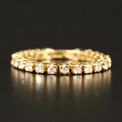 18K Diamond Articulated Band