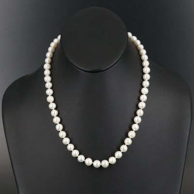 14K Pearl Necklace
