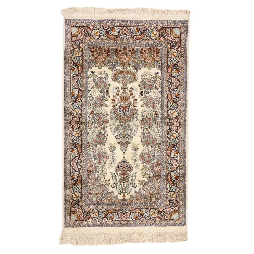 3' x 5'9 Hand-Knotted Persian Tabriz Area Rug