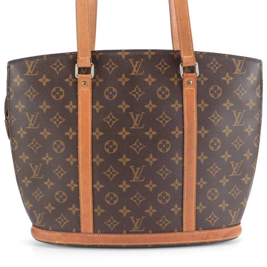 Louis Vuitton Babylone Tote Bag in Monogram Canvas