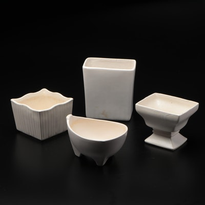 McCoy and Others Ceramic Planters, Mid to Late 20th Century