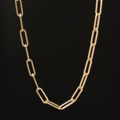 EFFY 14K Oval Link Necklace