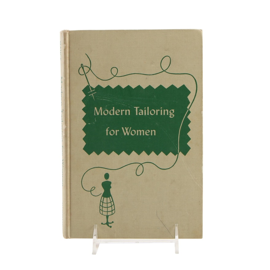 """Illustrated """"Modern Tailoring for Women"""" by Frances F. Mauck, 1947"""