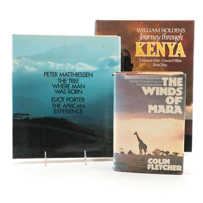 """First Edition """"The Winds of Mara"""" by Colin Fletcher and More History Books"""