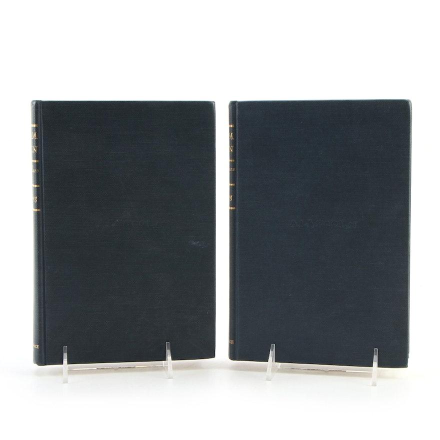 """Abraham Lincoln: The Prairie Years"" Two-Volume Set by Carl Sandburg"