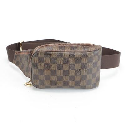 Louis Vuitton Géronimos Belt Bag in Damier Ebene Canvas