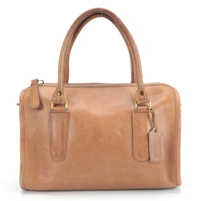 Coach Madison Satchel in Brown Glove Tanned Leather