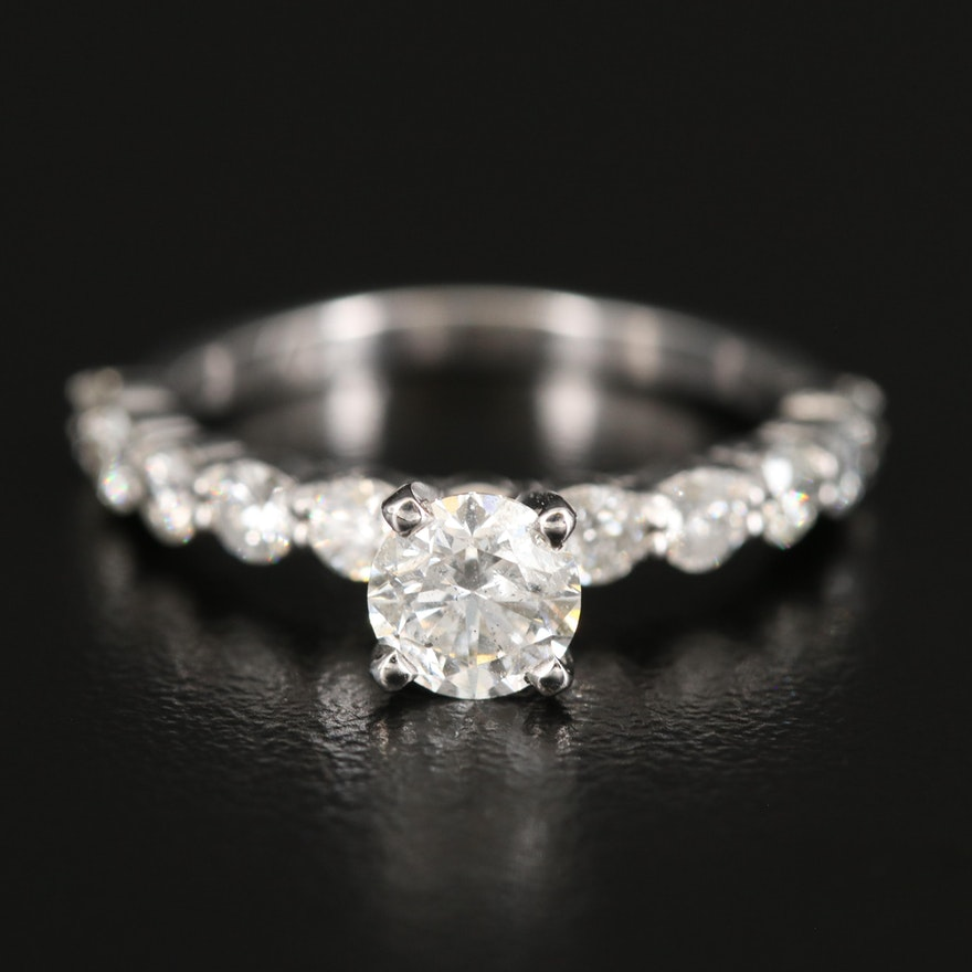 14K 1.37 CTW Diamond Ring