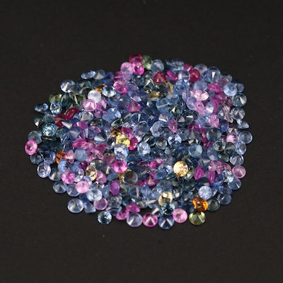 Loose 10.10 CTW Round Faceted Sapphire