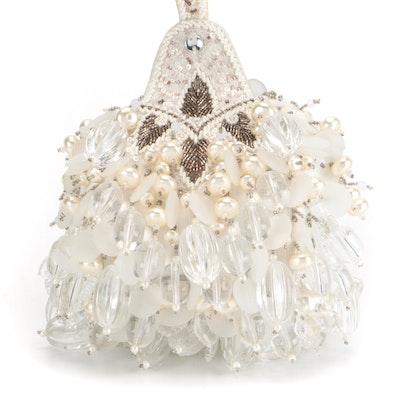 Carlisle Bead and Drop Embellished Evening Bag