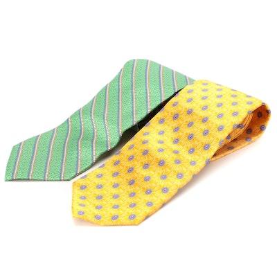 Fabergé Printed Silk Neckties