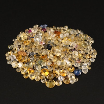Loose 10.13 CTW Round Faceted Sapphires