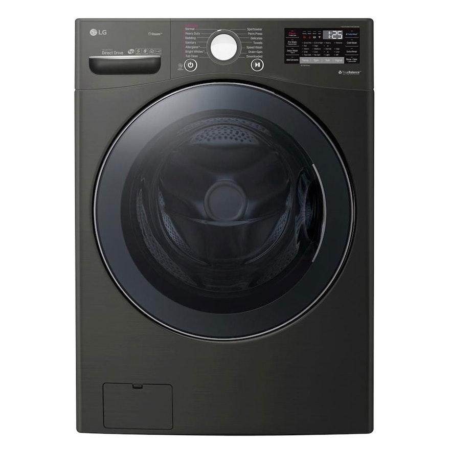 LG Black Steel 4.5 Cu. Ft. Wi-Fi Enabled Front Load Washer