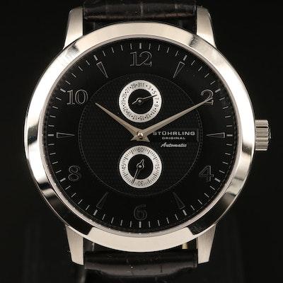 Stührling Original Stainless Steel Automatic Wristwatch