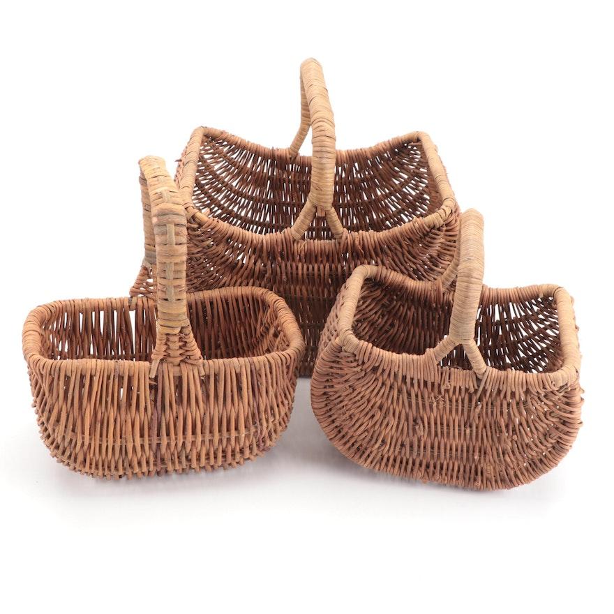 Woven Wicker Baskets
