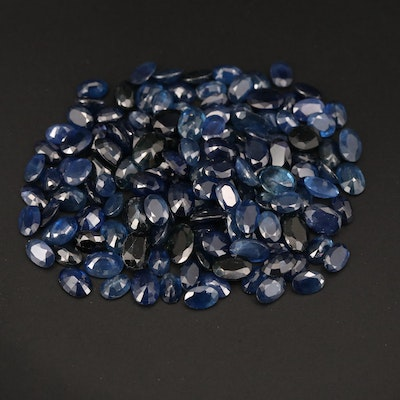 Loose Oval Faceted Sapphire