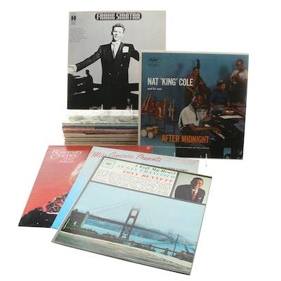 Nat King Cole, Duke Ellington, Ella Fitzgerald and Other Jazz Records