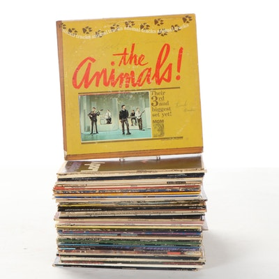 The Animals, The Ventures, War, Frankie Valli, Fania All-Stars, Other LP Records