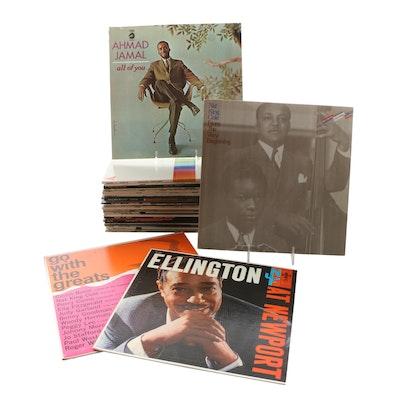 Ahmad Jamal, Duke Ellington, Nat King Cole and Other Jazz Records