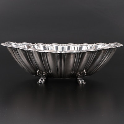 Reed & Barton Sterling Silver Footed Centerpiece Bowl