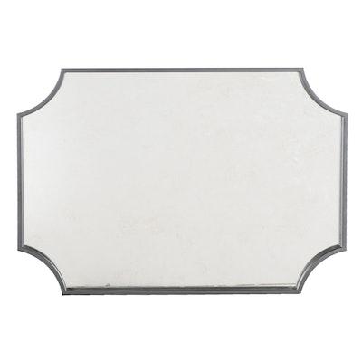 Ulric Rectangular Textured Vanity Mirror in Black