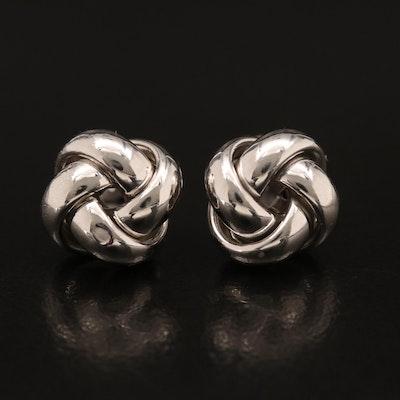 14K Love Knot Stud Earrings