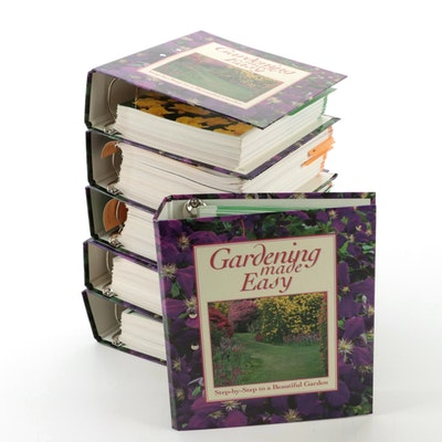 """""""Gardening Made Easy"""" Six-Volume Collection, 1995"""
