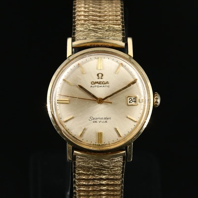 1966 Omega Seamaster DeVille 14K Gold Filled Automatic Wristwatch
