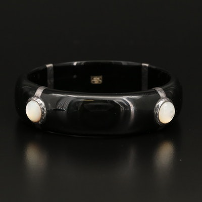 Ippolita Sterling, Resin and Mother of Pearl Bangle