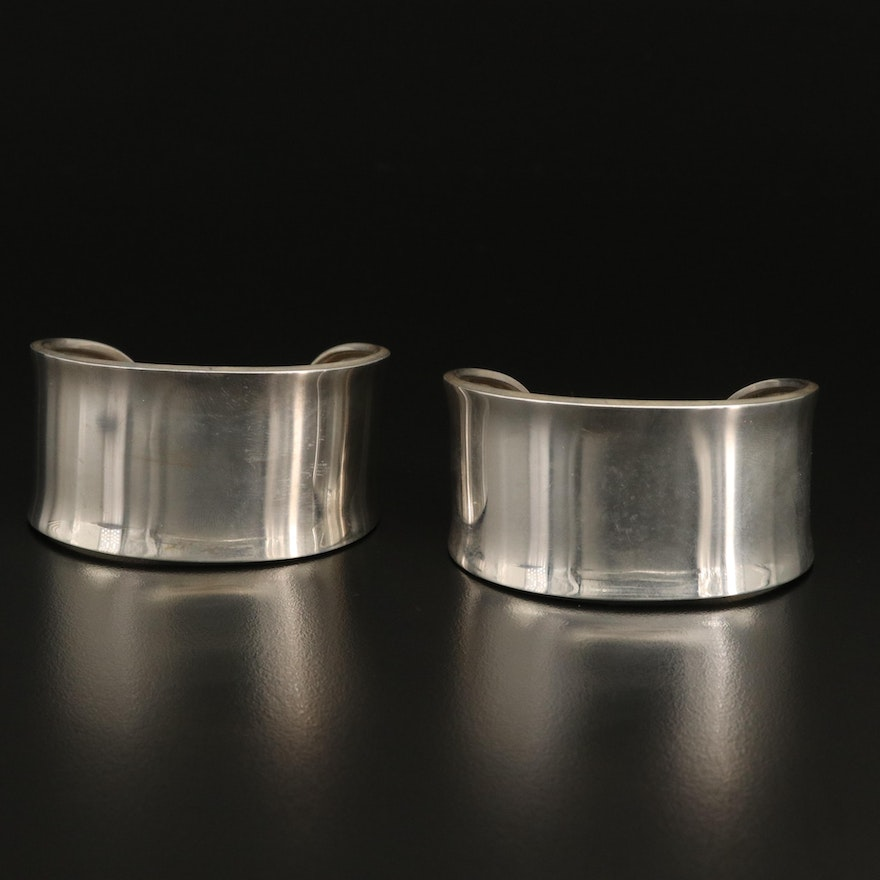 Mexican Sterling Silver Cuffs