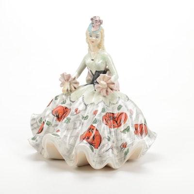 Italian Ceramic Figurine, Mid-20th Century