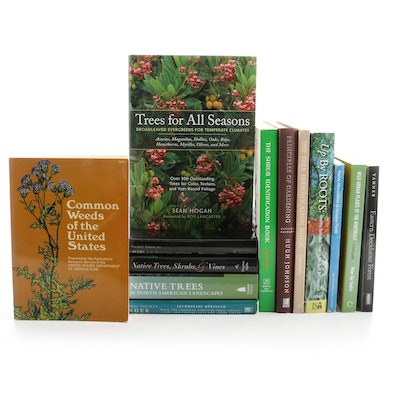 """Signed """"Native Trees for North American Landscapes"""" and More Gardening Books"""