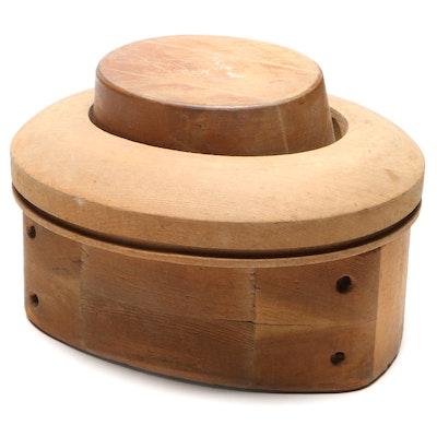 Wooden Hat Form